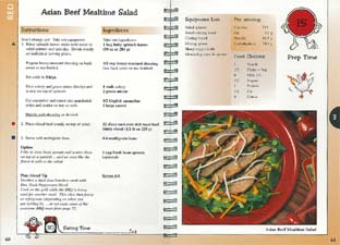 Cookbooks of healthy fast delicious recipes...complete meal plans ...